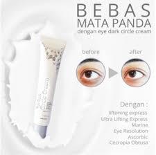 Krim Mata Panda eye circle ms glow cantik skincare original krim mata