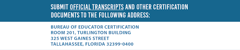 certificate types and requirements