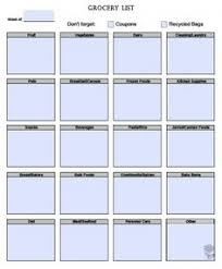 grocery list template google search cluster busters pinterest