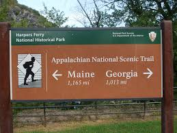 Interior Signs Trail Appalachian Trail On The Rise