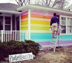 now that u0027s pride man buys 81 000 house opposite homophobic