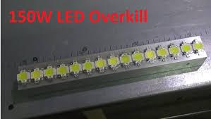diy led strip light diy monster 15 x 10w led strip overkill youtube