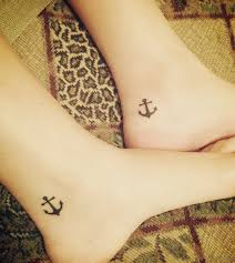 25 wonderful anchor tattoos on ankle