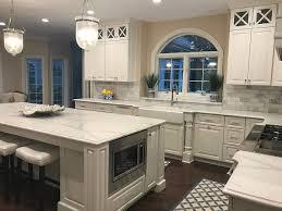 espresso kitchen cabinets with white quartz countertops 6 elegance white quartz countertops kitchen ideas