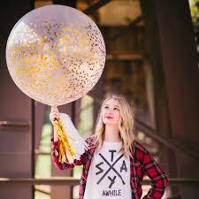 gold confetti balloon confetti metallic gold glitter balloon jumbo