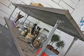 oak kitchen island units deanna reclaimed grey washed wood kitchen island by grain