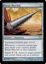war club ronin warclub betrayers of kamigawa gatherer magic the