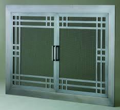 Fireplace Chain Screens - screen doors fireplaces plus