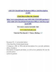 probation officer job description an image without description
