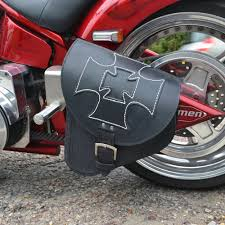 Radio Control Harley Davidson Fat Boy Harley Davidson Breakout Fat Boy Leather Left Single Saddle Bag