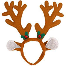reindeer antlers headband reindeer antlers headband christmas party headbands by