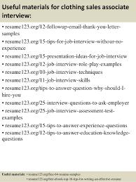 Sales Associate Job Resume by Sample Resume For Clothing Store Associate Contegri Com