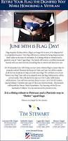 Flag Etiquette 14th Is Flag Day Tim Stewart Funeral Home Monroe Ga