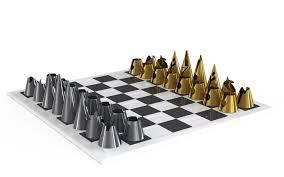 Futuristic Chess Set Jovoto Chess Board Game A Second Life Nespresso
