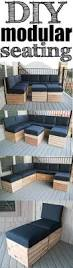 diy modular sectional corner piece plans spaces free and pallets