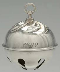 reed barton bell ornament at replacements ltd