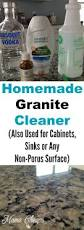 Kitchen Cabinet Cleaner by 25 Best Homemade Granite Cleaner Ideas On Pinterest Cleaning