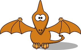 orange dinosaur clipart kid 2 clipartbarn
