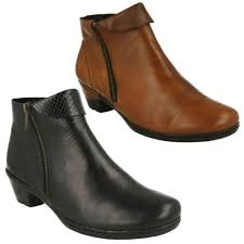 rieker s boots uk rieker 76961 smart leather warm lined casual everyday