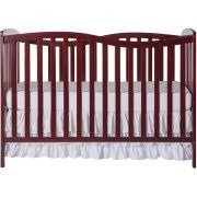 Chelsea Convertible Crib On Me Chelsea 5 In 1 Convertible Crib Cherry Walmart