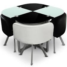 table cuisine avec chaise beau table de cuisine pliante avec chaises intégrées et extensible