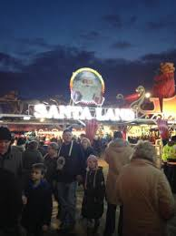 santa land or just a fairground picture of winter