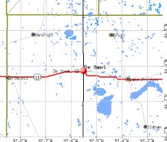south dakota map with cities de smet south dakota sd 57231 profile population maps