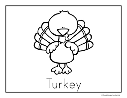 thanksgiving coloring pages simple for