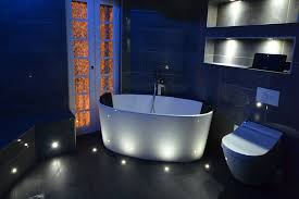 Led Bathroom Lighting Ideas Blue Led Bathroom Lights Lighting Colour Changing Downlight Kit