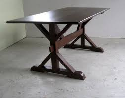 X Table Base Trestle Farm Tables