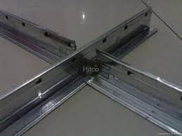 t bar suspended ceiling system for gypsum plasterboard t