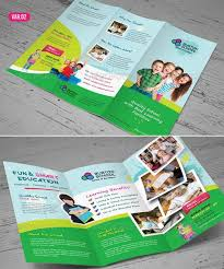 tri fold school brochure template 20 awesome corporate brochure templates xdesigns
