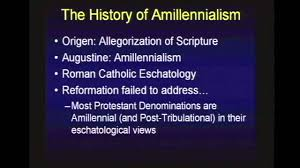 the history of amillennialism chuck missler