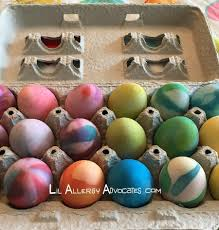 faux easter eggs faux egg decorating ideas lil allergy advocates