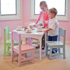 kidkraft nantucket 4 piece table bench and chairs set kidkraft modern table chair set highlighter walmart amazing