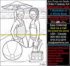 coloring book illustrator hire an american artist july 2014