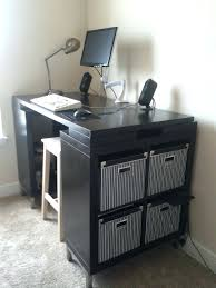 bar height office table desk bar height reception desk photo of my standing desk in the