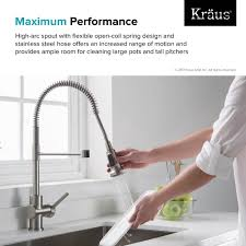 cleaning kitchen faucet kitchen faucet kraususa