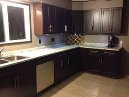 one of the kitchens done with espresso kitchen cabinets some