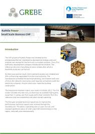 grebe renewable business portal publications small scale biomass chp kuittila power finland