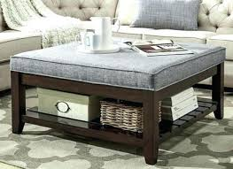 extra large ottoman coffee table awesome tufted ottoman coffee table fabric or leather large round