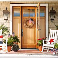 Christmas Decorations For Outside Door by Best Exterior Door Ideas Our Front Door Makeover Four