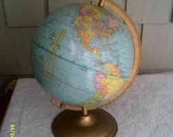 Small Desk Globe Small Desk Globe Etsy