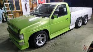 nissan pickup custom nissan truck custom tandem 3 axle
