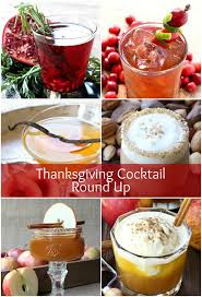 Non Alcoholic Thanksgiving Drinks Thanksgiving Cocktail Round Up Mantitlement