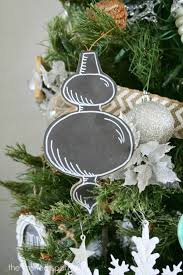 chalkboard inspired christmas tree the crafted sparrow