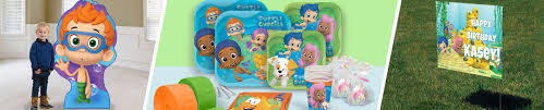 bubble guppies halloween party games bubble guppies party supplies shindigz