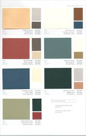 sherwin williams 1950s color palettedutch colonial house paint