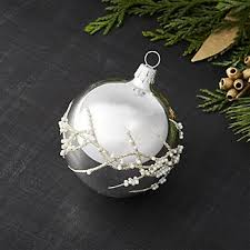 pearl branch ornament is in the air