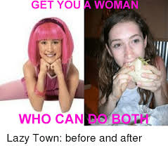 Lazy Town Memes - list of synonyms and antonyms of the word lazy town actor dead
